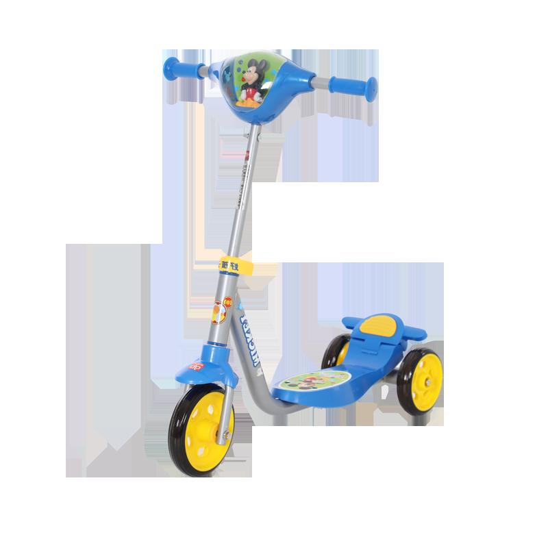 好孩子儿童三轮滑板车迪士尼卡通音乐滑板车 蓝色SC30-J104D