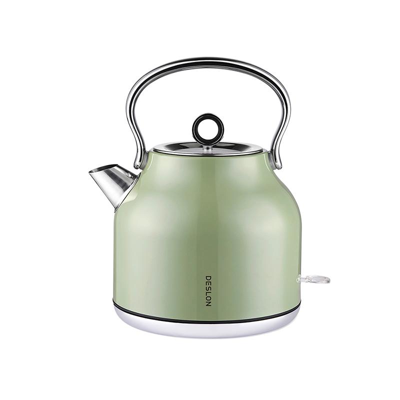 【德世朗】DDQ-SH205复古电热水壶 复古绿