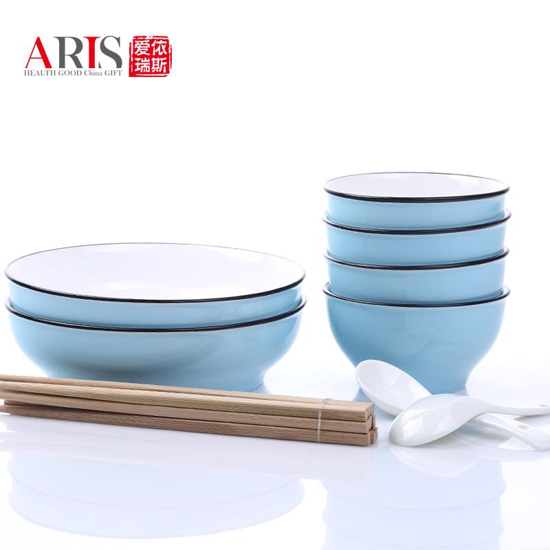 爱依瑞斯星空蓝--12头餐具AS-D1205H