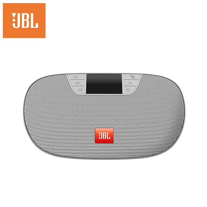 JBL TUNE2 无线蓝牙音箱便携式插卡音响 手机电脑外放播放器 FM收音机可连U盘TF卡 黑色