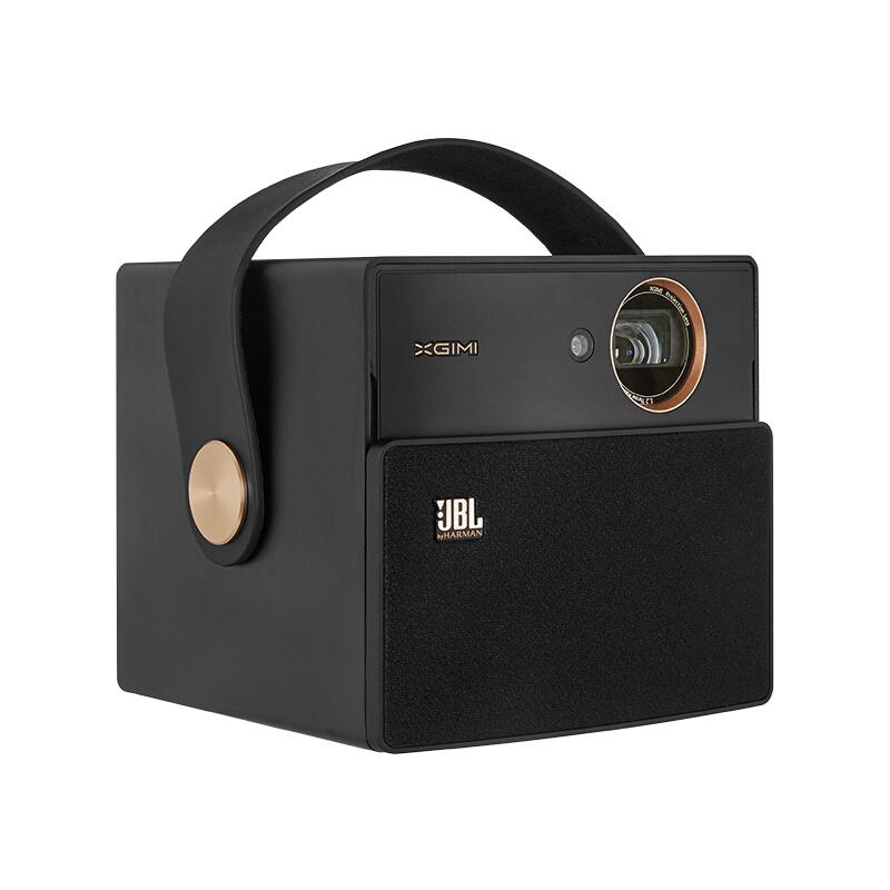 极米(XGIMI)投影仪CC极光白色 家用便携投影机 无线投屏办公投影仪 迷你便携/自带电池长时续航/3D 标配