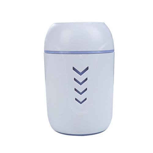 创意多功能加湿器家用桌面车载空气雾化器 粉色