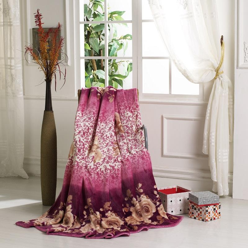 德泽家纺 维也纳风尚毯 法莱绒  DZ-T668 200*230cm