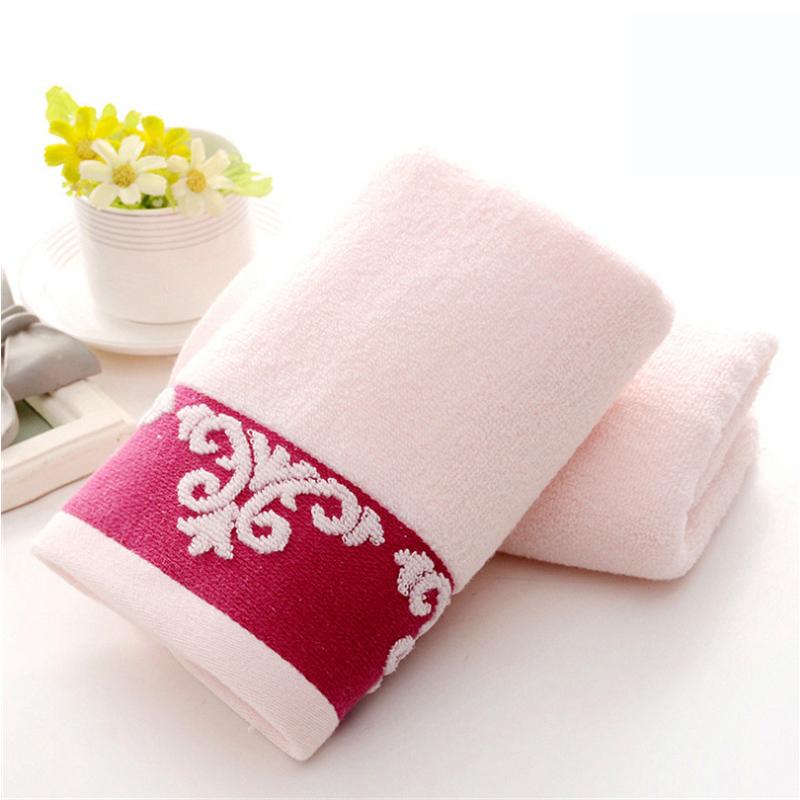 正典流苏花毛巾3条装