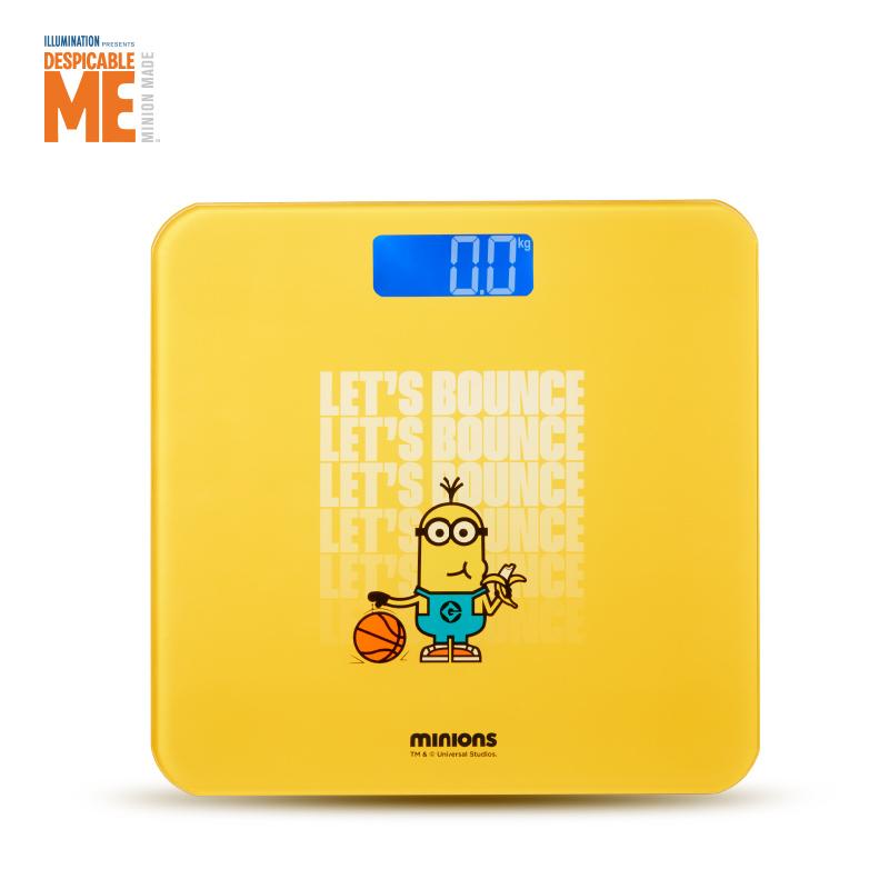 神偷奶爸小黄人电子秤SA-DDC01