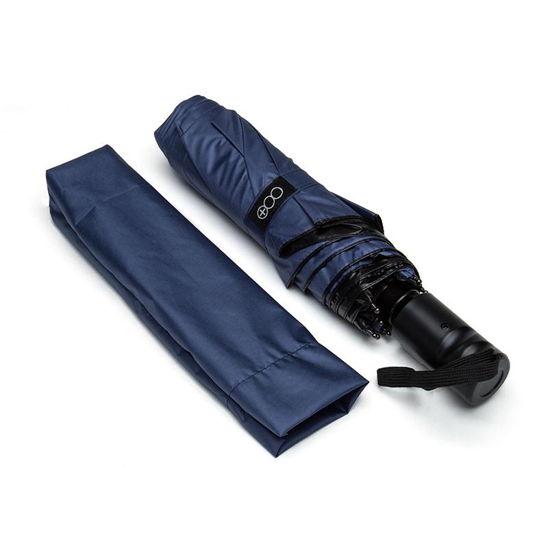 多样屋星尚三折自动伞遮阳伞晴雨伞女两用太阳伞防晒手动开关