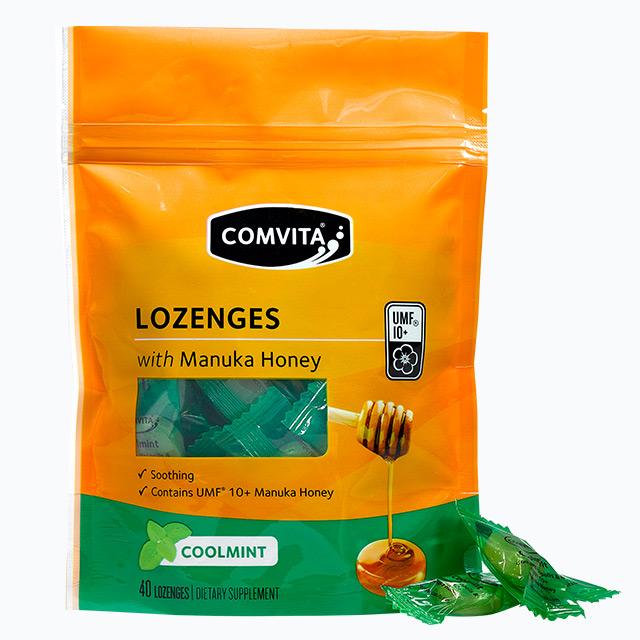 康维他麦卢卡蜂蜜硬糖果180g薄荷味新西兰进口包袋装儿童