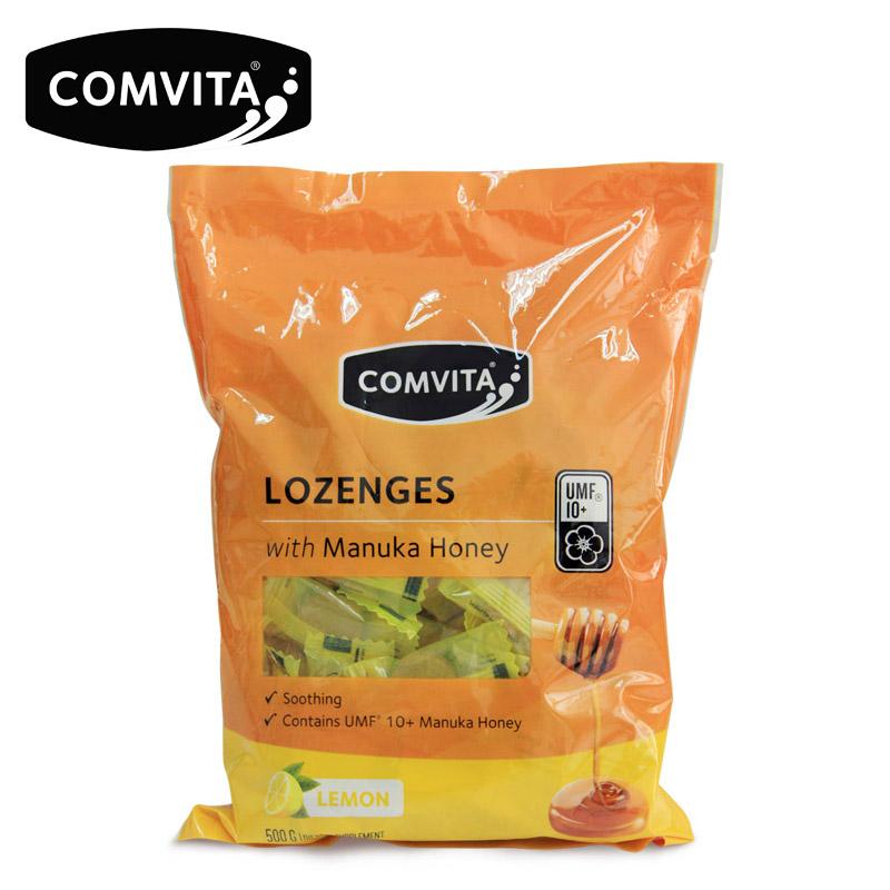 康维他麦卢卡蜂蜜硬糖果500g柠檬味新西兰进口包袋装儿童