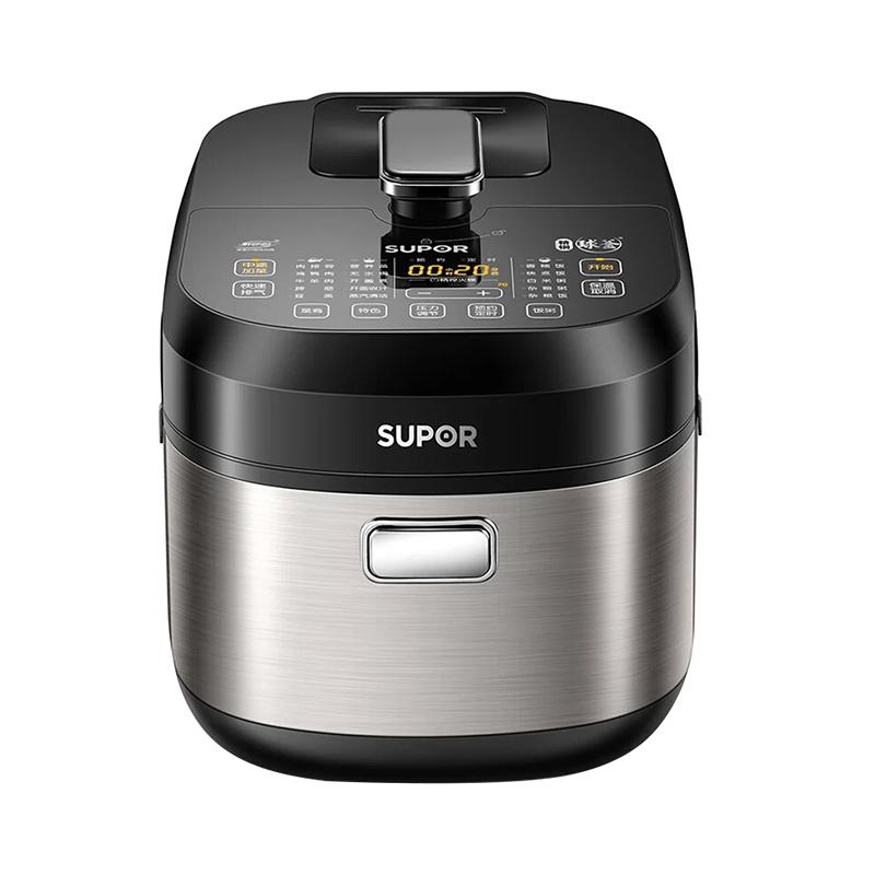 苏泊尔(SUPOR)SY-50HC15Q 电压力锅5L鲜呼吸球釜IH高压饭煲多功能家用6-8人