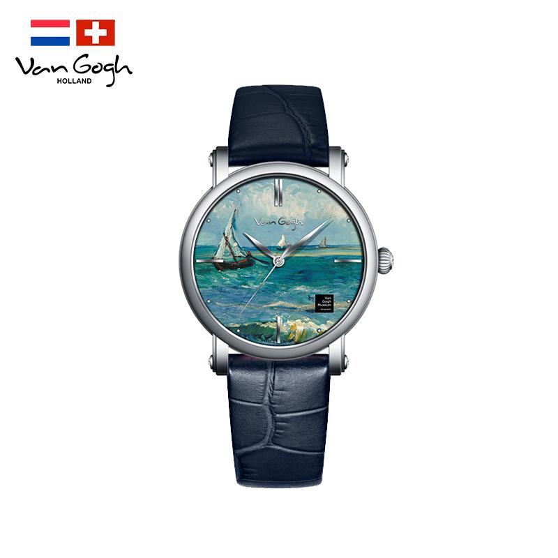梵高VanGogh 瑞士手表 油画系列 海景OPTM-L
