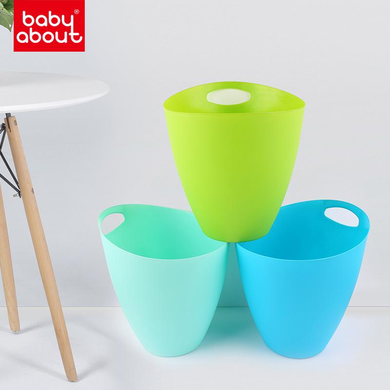 BabyAbout简约北欧家用厨房客厅卧室垃圾篓简约无盖垃圾桶 012