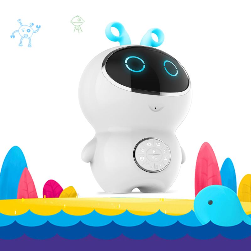 爱华A23儿童智能陪伴机器人 AI智能WiFi故事机、微信聊天、语音对话、互动学习、宝贝的启蒙老师