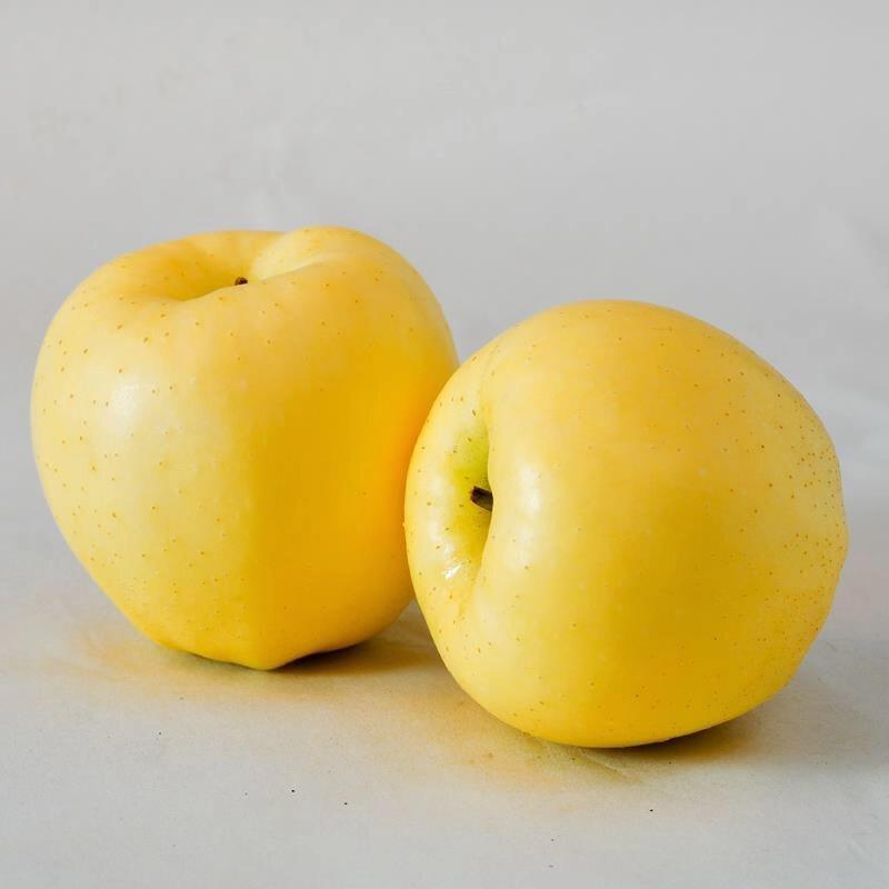 烟台黄金帅苹果粉面黄元帅新鲜水果山东黄苹果中小果刮泥5斤装