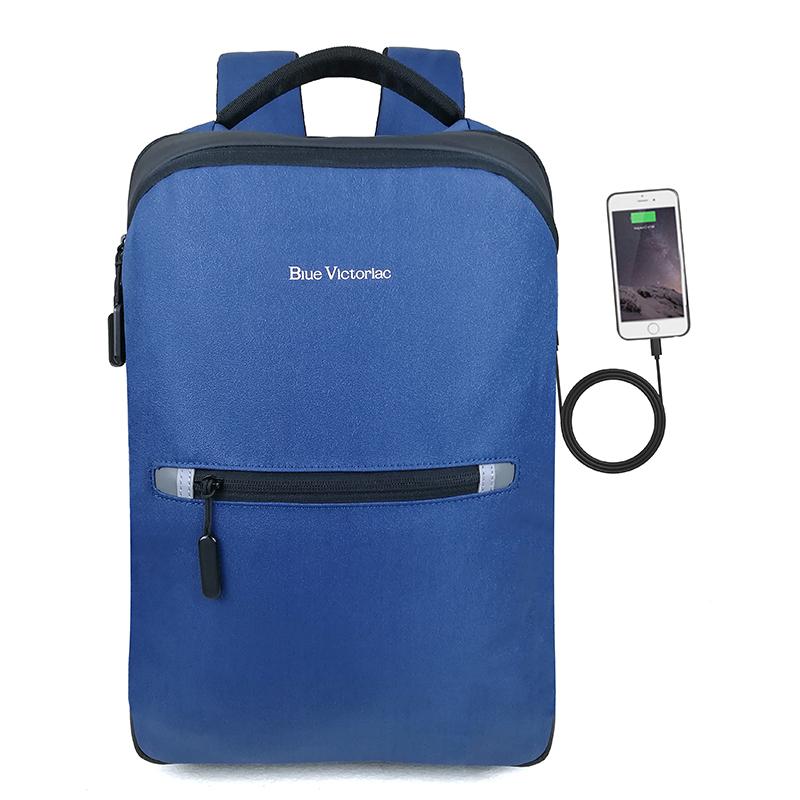 蓝色军刀 蓝色军刀充电双肩包BV-CD005蓝色款