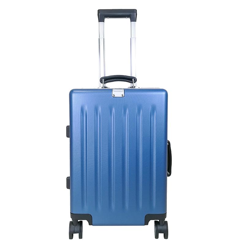 【预售 2月3号发货】蓝色军刀 威廉铝框可充电拉杆箱24寸 BV-LG004-24