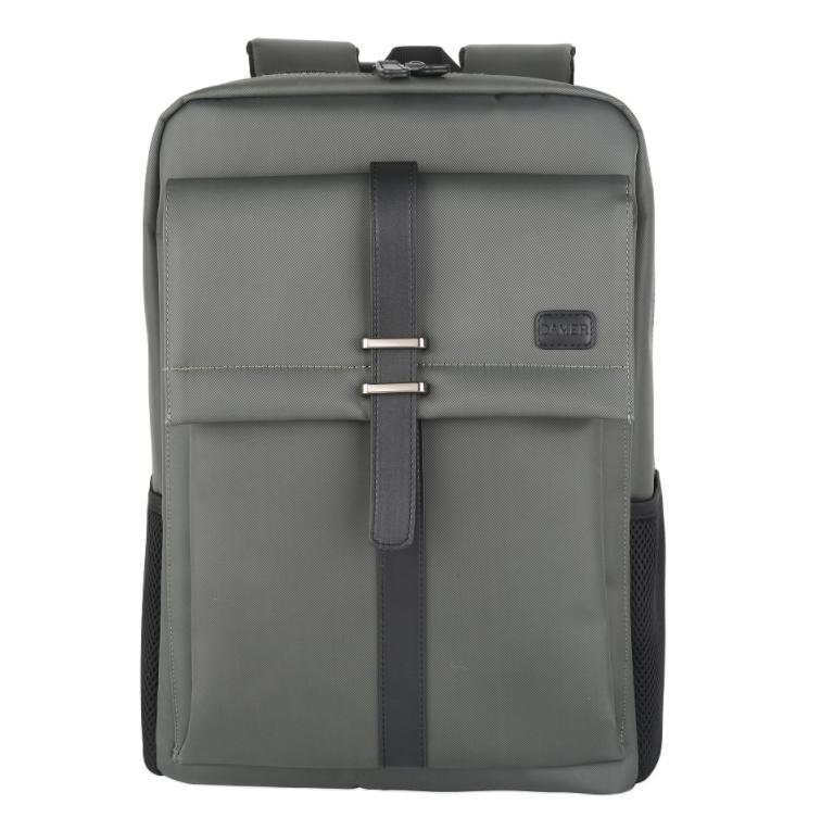 2019季背包户外出差旅行包双肩包时尚大迈双肩背包-灰色     873DM3105