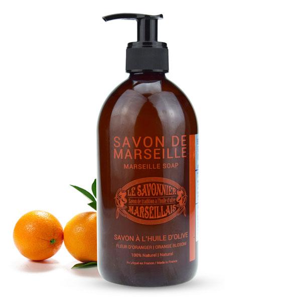 玛瑟皂工坊马赛橄榄液体皂(柑橘甜橙)500ml