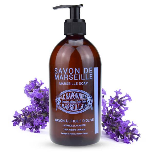 玛瑟皂工坊马赛橄榄液体皂(薰衣草)500ml
