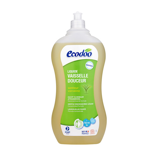 逸乐舒(ecodoo)浓缩温和护手洗碗液(芦荟)1 L