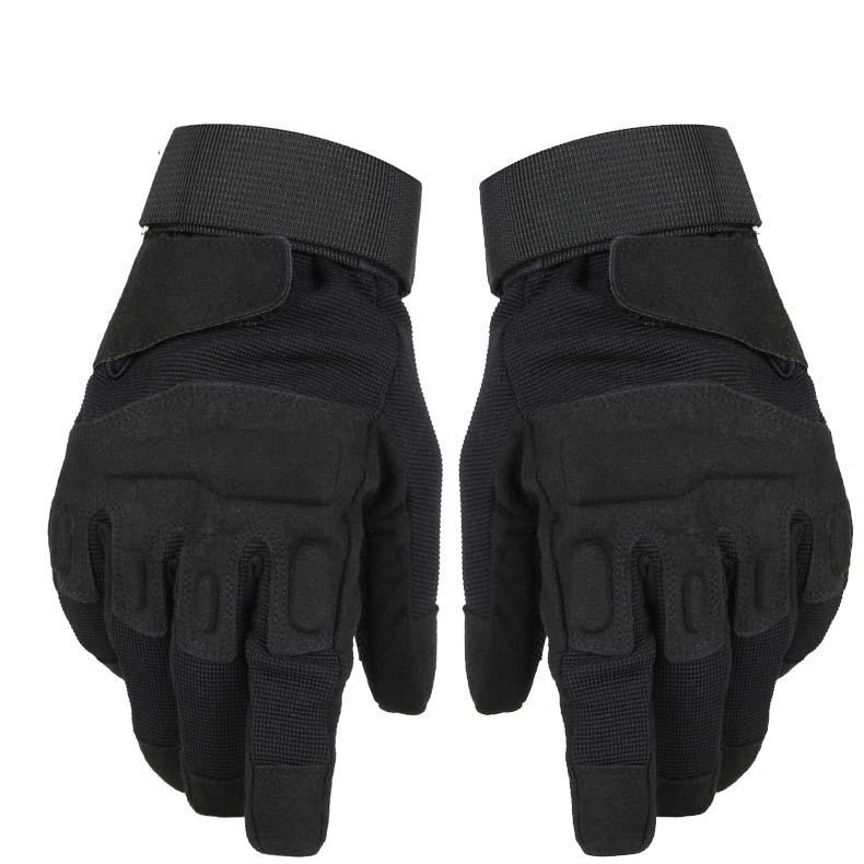 保暖加绒战术手套防风户外运动手套 D-4