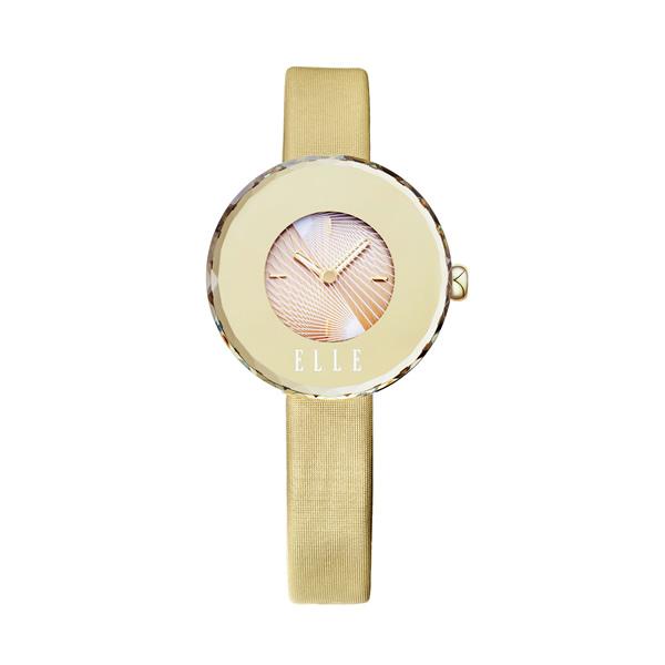 【预售 2月3号发货】ELLE 法式都市腕表 EL20259S01C 淡金色