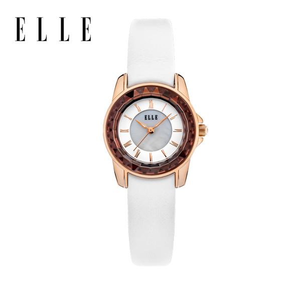 【预售 2月3号发货】ELLE时尚潮流复古女士腕表 EL20271S02N 玫瑰金
