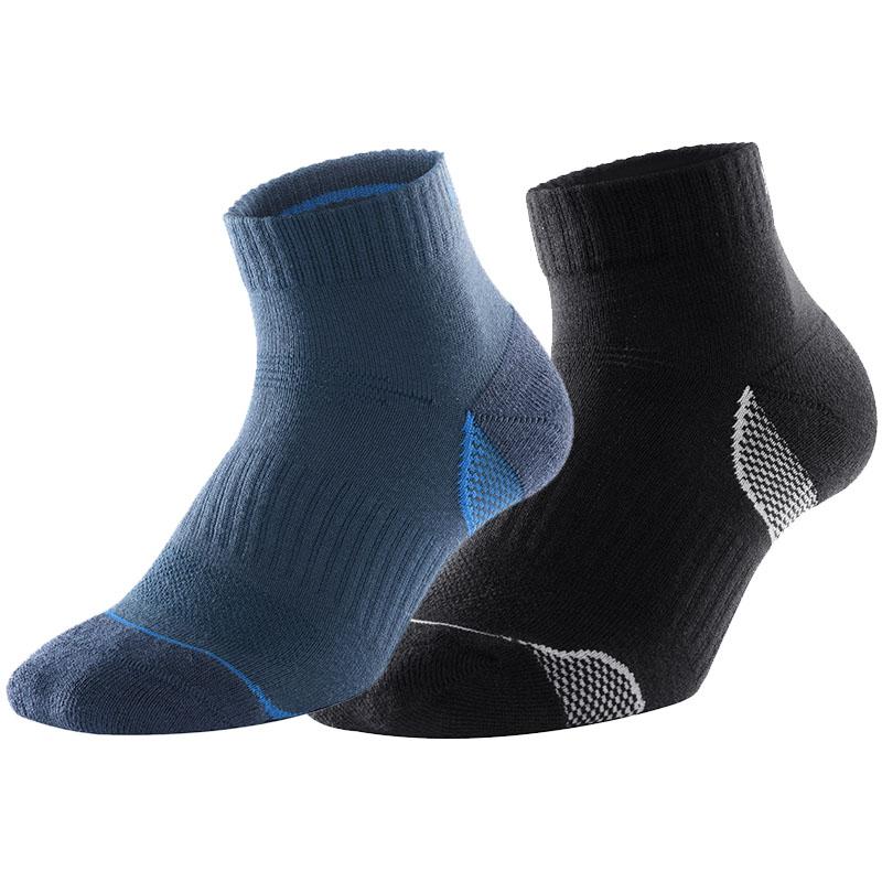 凯乐石kailas 2019男款徒步袜(两双装)徒步袜 厚度适中 KH210045