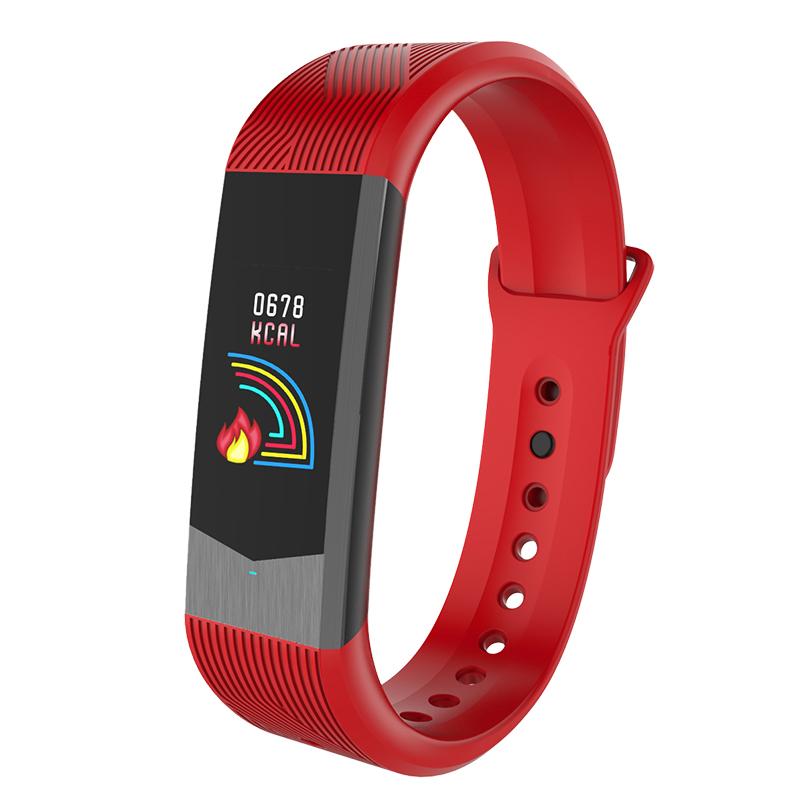 博之轮(BOZLUN)智能手表男运动手环 3D彩屏UI心率血压检测时尚学生电子手环表B30