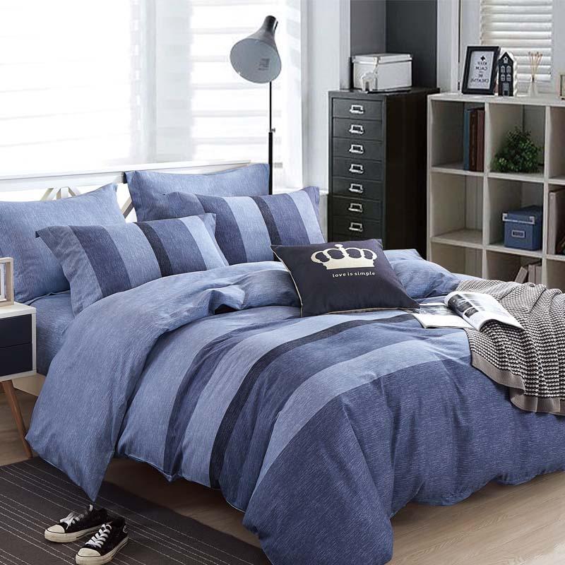 金丝莉 抗菌全棉套件 抗菌纯棉四件套 全棉套件床上用品被罩双人床单被套 博塔利