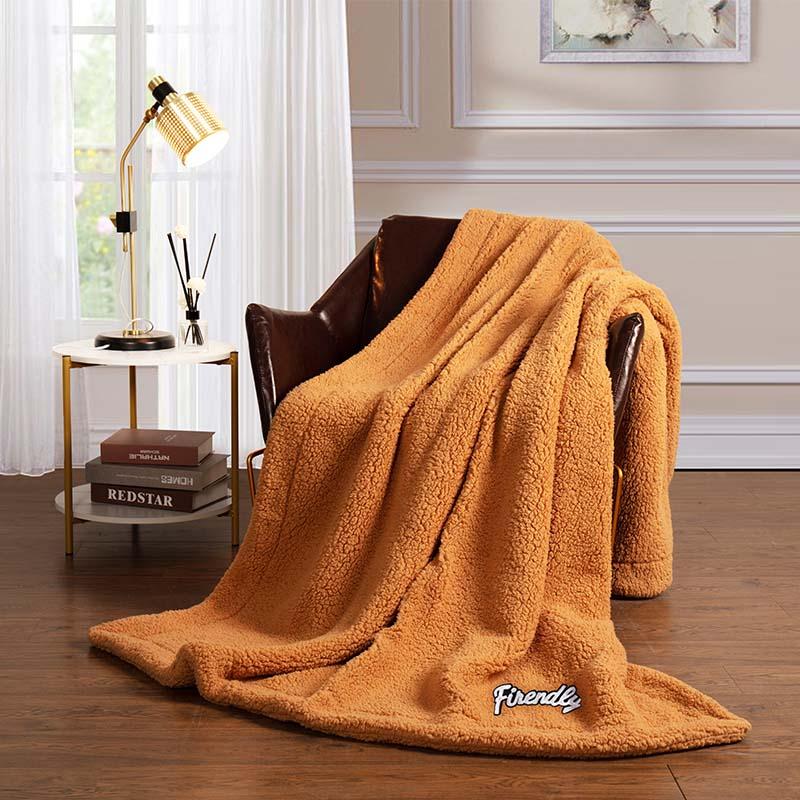 金丝莉 泰迪抗菌羊羔绒毯 180×200cm