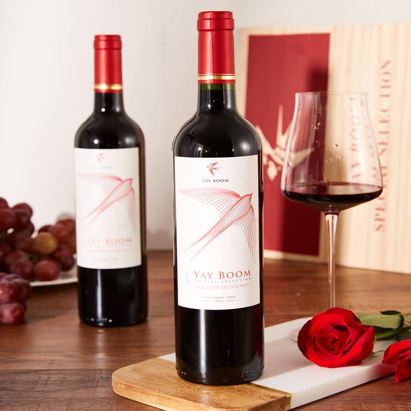 燕播•精选赤霞珠干红葡萄酒(智利有机种植)