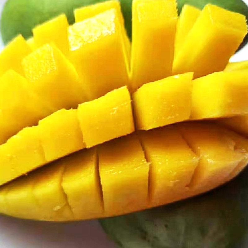新鲜水果 芒果 金煌芒果 甜心芒4kg装 单果180g以上(18-23个装)