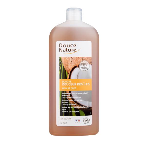 柔舒然阳光海岛温和保湿沐浴液(椰香)1 L