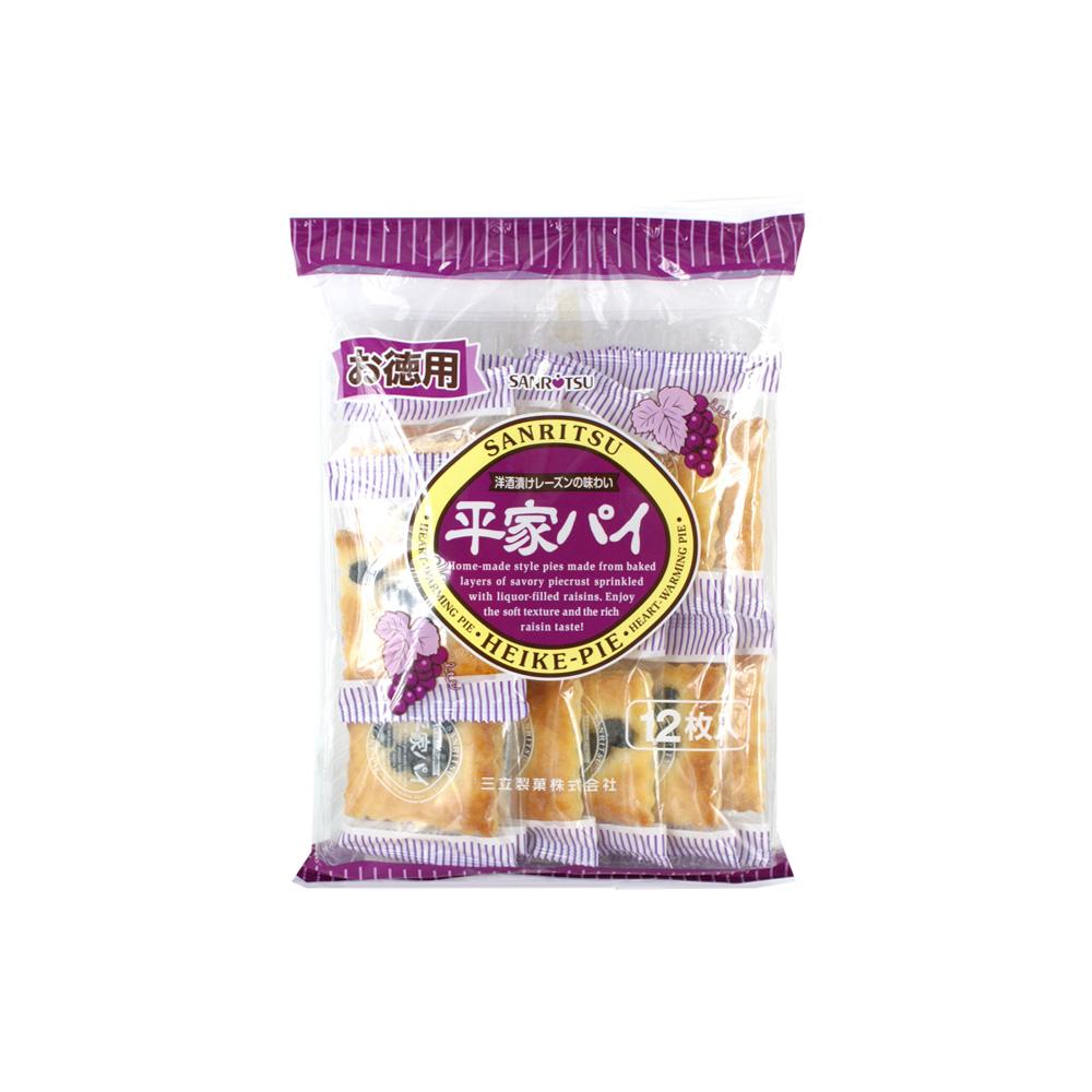 【顺丰发货】三立提子馅饼180g(日本进口 袋)(满79元包邮)