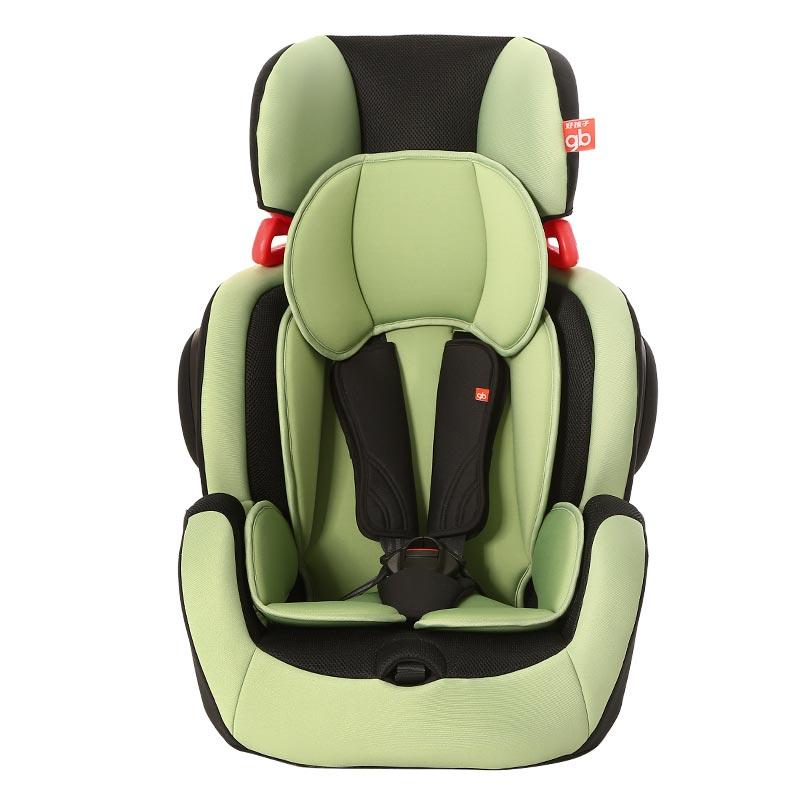 好孩子 儿童汽车安全座椅9月-12岁isofix接口绿色