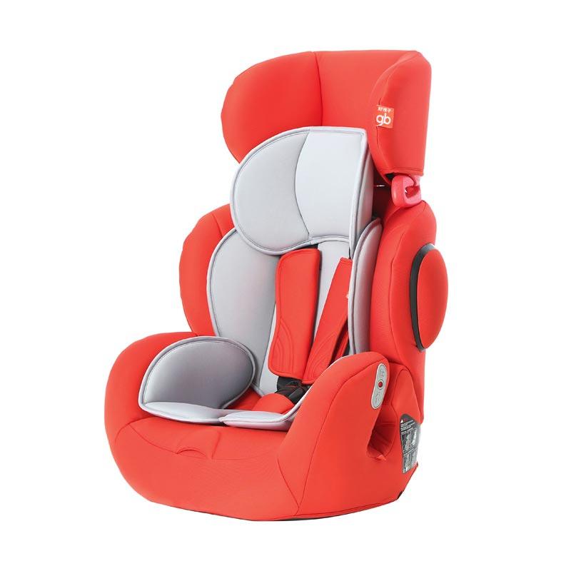 好孩子 儿童汽车安全座椅9月-12岁isofix接口红色