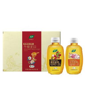 中粮悦活香榭蜜园蜂蜜礼盒504g