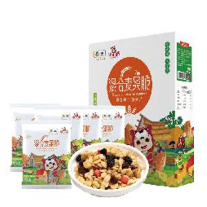 中粮福小满混合麦果脆礼盒(7日装)30g*7袋