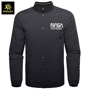凯乐石(KAILAS) 户外运动 棉服男女中性款NASA主题运动保暖双面穿夹克外套KG010158