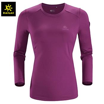 凯乐石(KAILAS) 户外运动 女款长袖功能T恤 KG820387