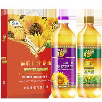 中粮福临门营养油礼盒 900ml*2