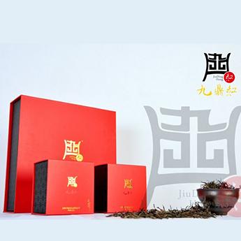 高品质广东特产正宗英德原产茶叶九鼎红英红九号160克礼盒装(32包*5g)