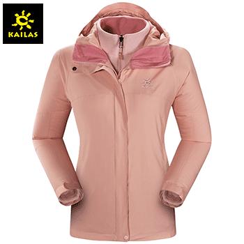 凯乐石(KAILAS)户外运动 女款3件套冲锋衣 KG120340