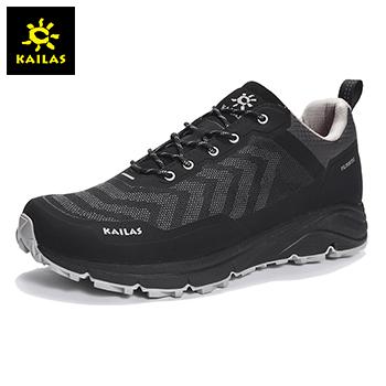 凯乐石(KAILAS) 户外运动 男款低帮防水耐磨攀山徒步鞋 KS312249