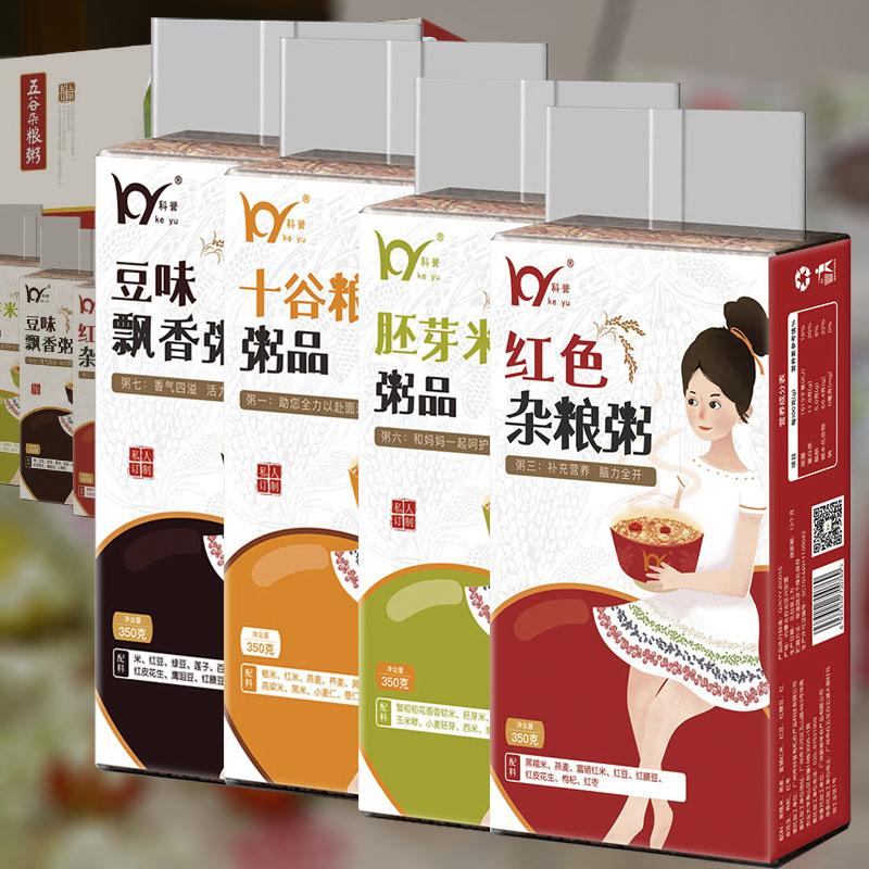 科誉五谷杂粮早餐粥精选组合装(新包装)1.4kg