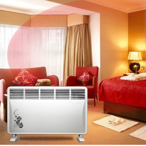 艾美特(Airmate)HC2039S  取暖器/电暖气/电暖器 防水家用欧式快热炉白色