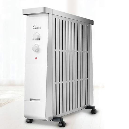 美的(Midea) NY2213-17B 油汀电暖器13片电热油汀防烫 静音节能取暖器家用 电暖气
