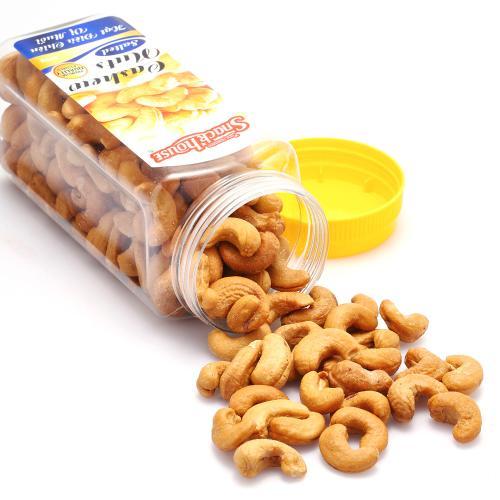 【中粮海外直采】Snack House零食屋盐焗腰果300g (越南进口  罐)