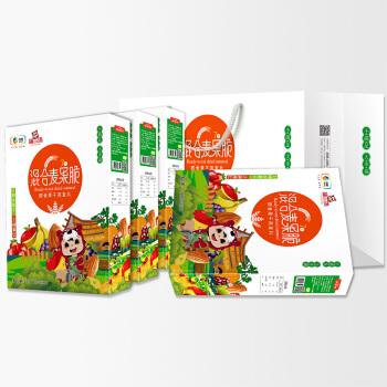 中粮福小满混合麦果脆礼盒(每月装)30g*7袋*4盒
