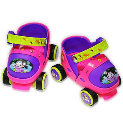 赞宝贝宝宝溜冰鞋2-6岁初学者可调4小童轮滑鞋小孩滑冰鞋女